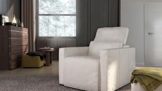 Butaca Aichiok blanca y moderna