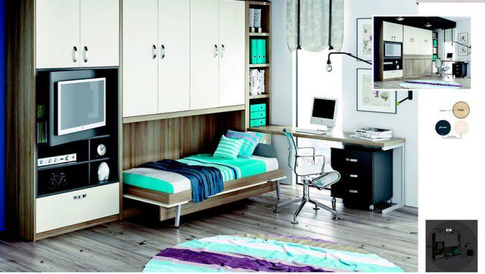 cama abatible para salón