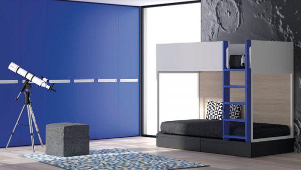 dormitorio juvenil literas infinity