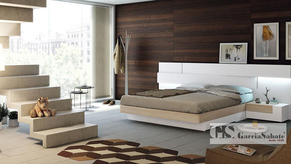 Dormitorio coleccion life l230 muebles zhar for Muebles garcia sabate