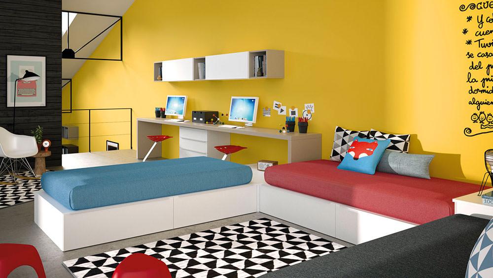 Dormitorio juvenil infinity 45 muebles zhar - Infinity jjp ...