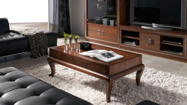 Mesa de café en madera