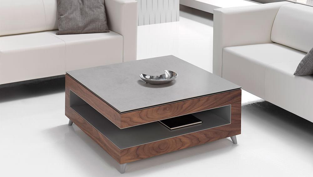 Mesa de centro moderna mesa de caf for Mesas de salon blancas