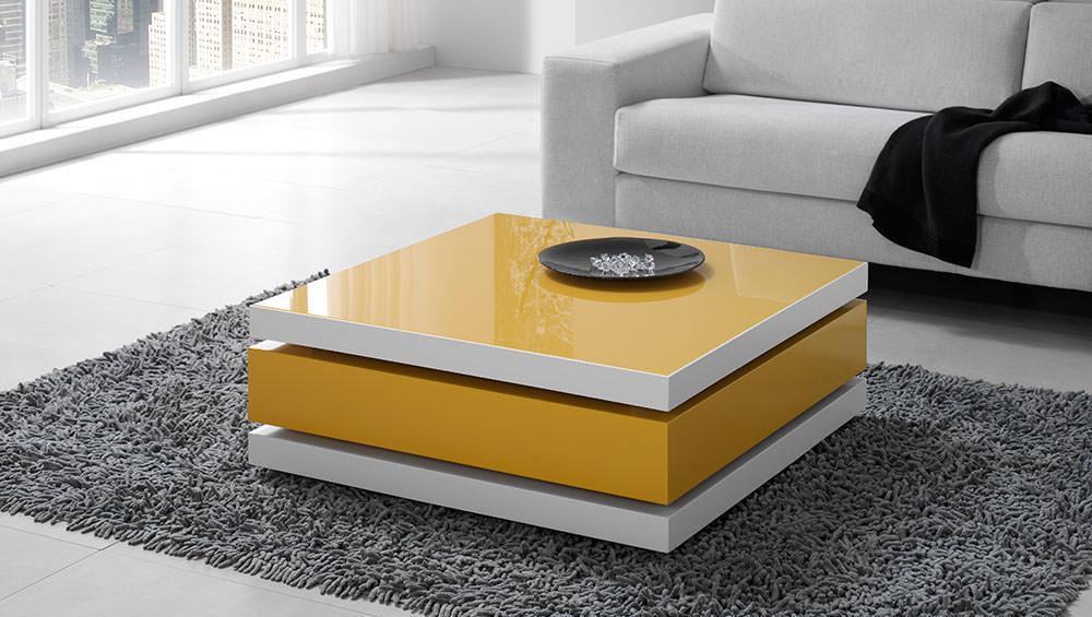 Mesa de centro moderna muebles zhar - Mesas de centro de cristal modernas ...