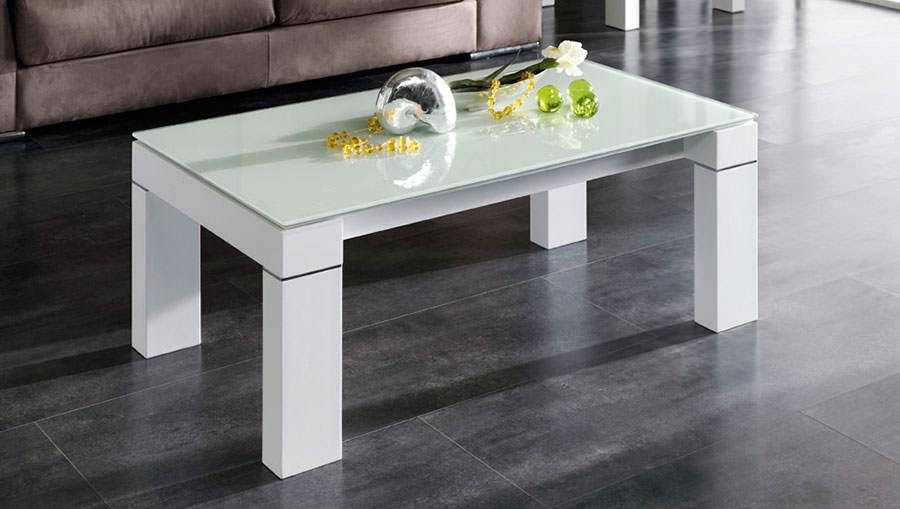 Mesa de centro moderna muebles zhar madrid - Mesas de centro de cristal modernas ...