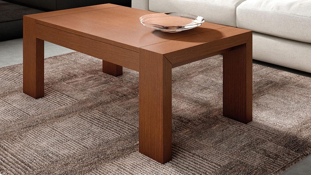 Mesa de centro extensible muebles zhar madrid - Mesa centro extensible ...