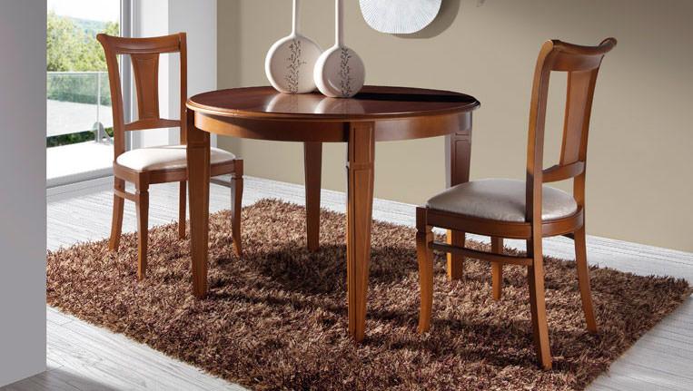 Mesa de comedor 074 3 muebles zhar for Mesa comedor clasica
