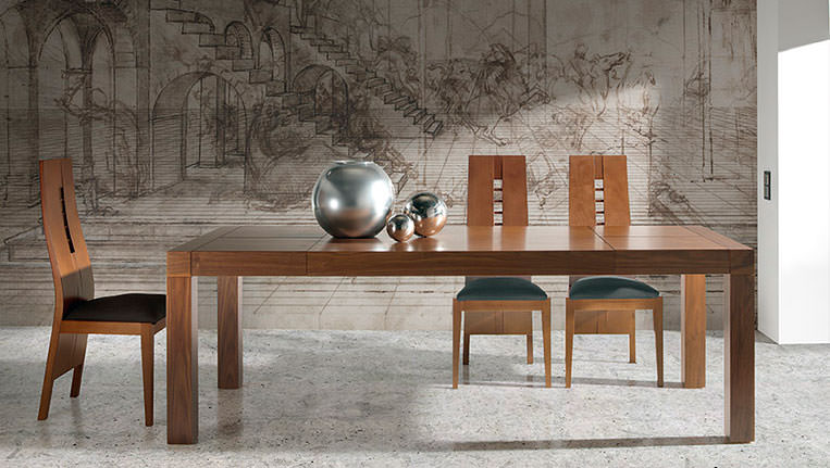 Mesa de comedor 255 0 muebles zhar for Mesas de comedor cuadradas modernas