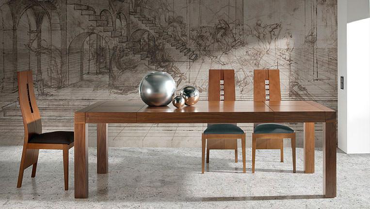 Mesa de comedor 255 0 muebles zhar - Mesa comedor moderna ...