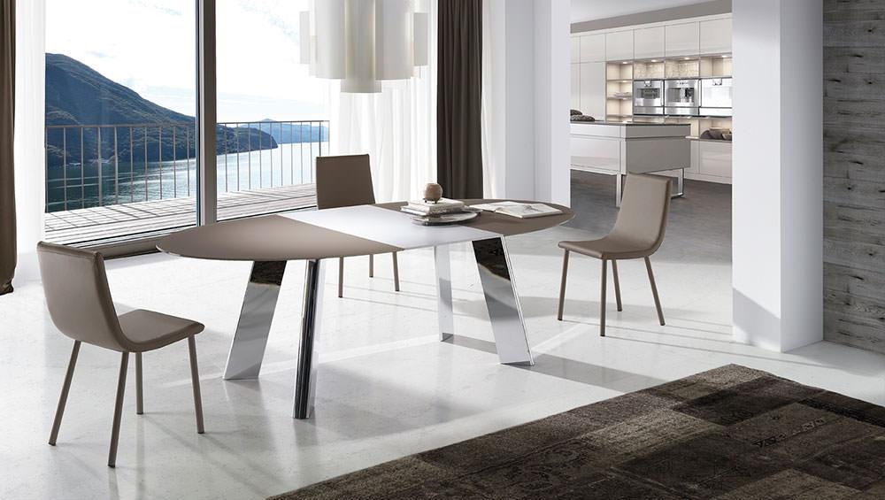 Mesa de comedor boheme muebles zhar for Mesas de comedor cuadradas modernas
