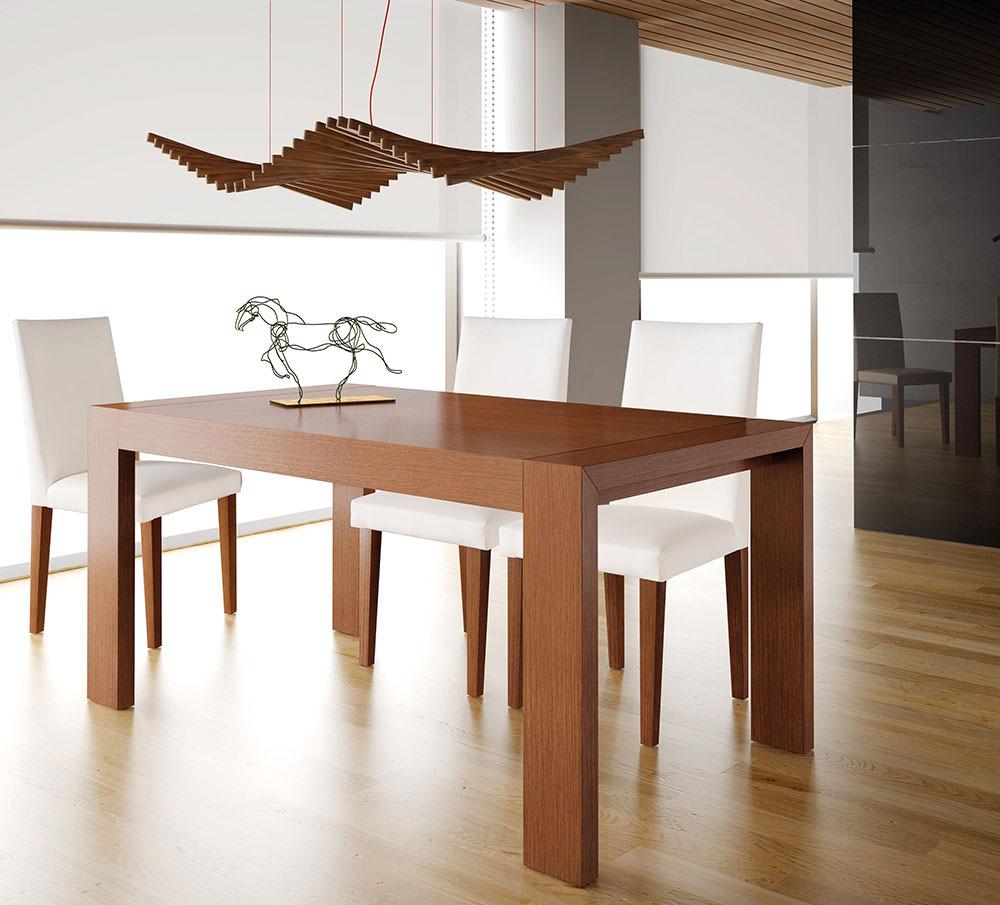 Mesa de comedor impacto muebles zhar for Mesas redondas modernas comedor