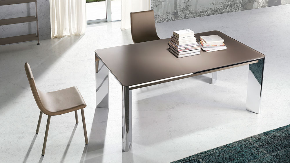 Mesa de comedor new york muebles zhar for Fabricantes sillas modernas
