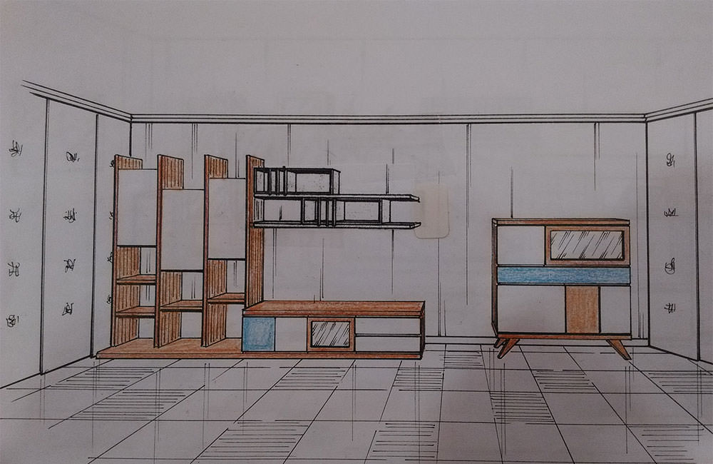 Muebles de madera y boiserie moderna a medida muebles a for Muebles a medida madrid