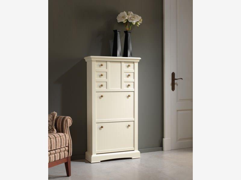 Mueble zapatero muebles zhar - Recibidor moderno blanco ...
