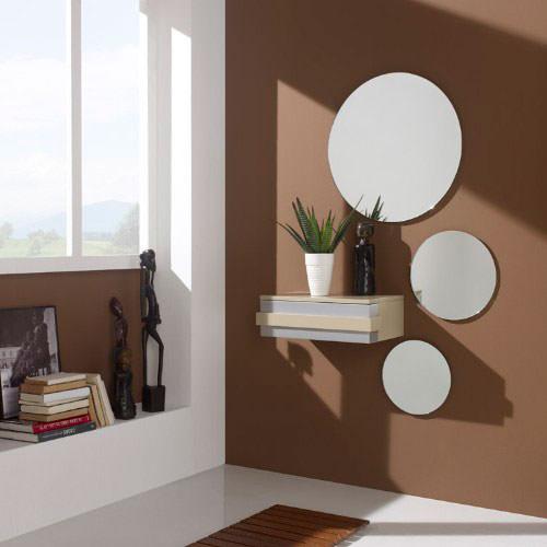 Recibidor composici n 03 muebles zhar for Espejos decorativos para recibidor