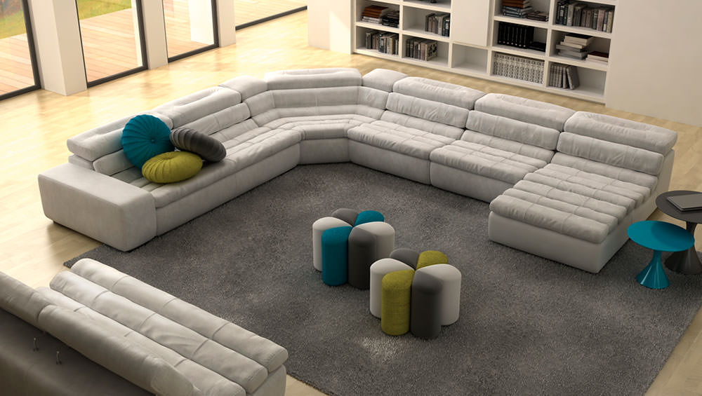 Sof kobe muebles zhar - Sofa rinconera moderno ...