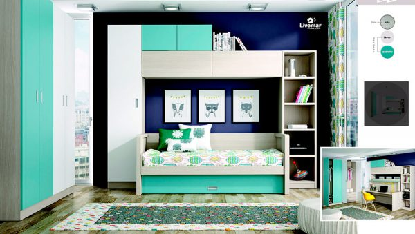 Dormitorio Juvenil Livemar