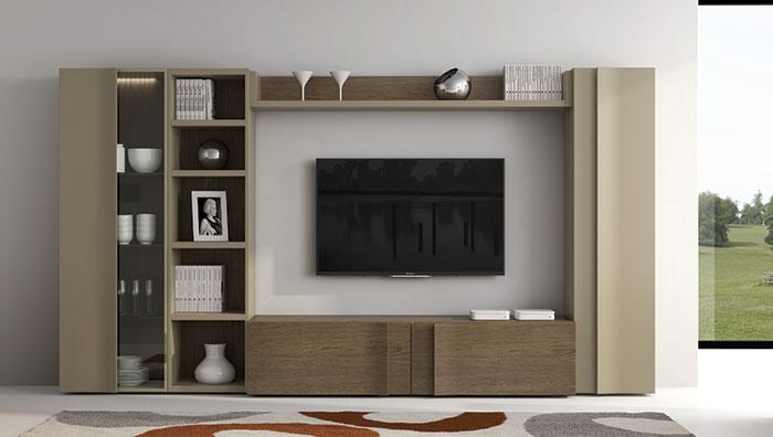 Salon composicion 109 muebles zhar for Composicion salon moderno