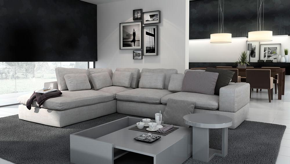 Sof nube muebles zhar - Sofa rinconera moderno ...