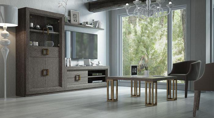 Sal n comedor enzo moderno con muebles auxiliares - Muebles auxiliares comedor ...