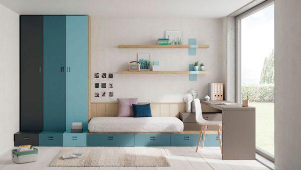 Dormitorio juvenil Atenas del fabricante Lagrama
