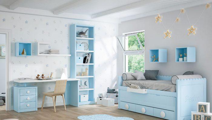 Dormitorio juvenil blanco polo del fabricante Pinero y Cabrero