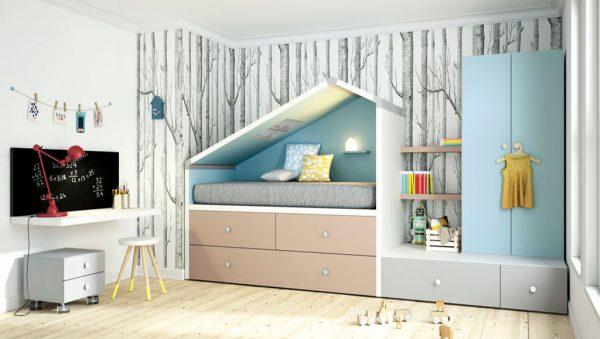 Dormitorio juvenil Bremen cottage del fabricante Lagrama