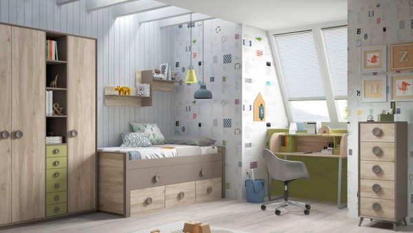 Dormitorio juvenil Compo 02 del fabricante Mobilsa