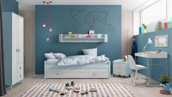 Dormitorio juvenil Compo 03 del fabricante Mobilsa