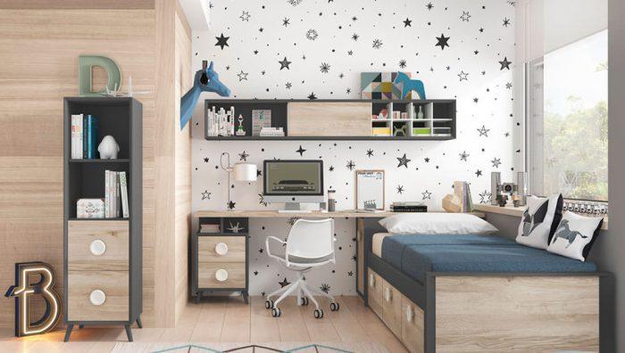 Dormitorio juvenil Compo 05 del fabricante Mobilsa