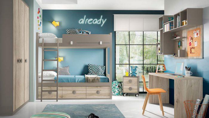 Dormitorio juvenil Compo 09 del fabricante Mobilsa