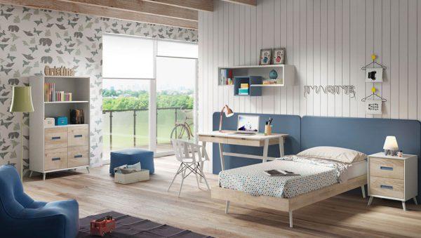 Dormitorio juvenil Compo 14 del fabricante Mobilsa