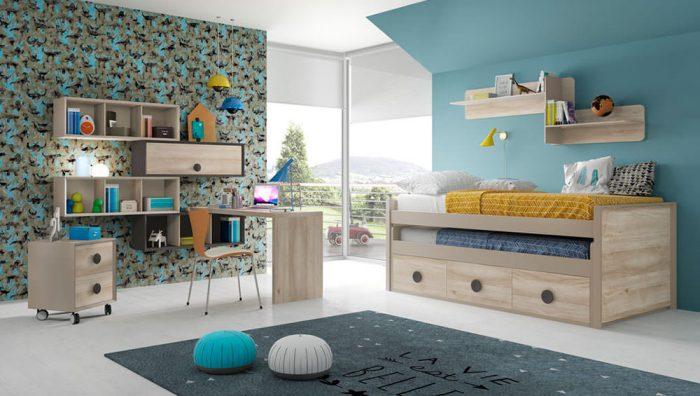 Dormitorio juvenil Compo 17 del fabricante Mobilsa