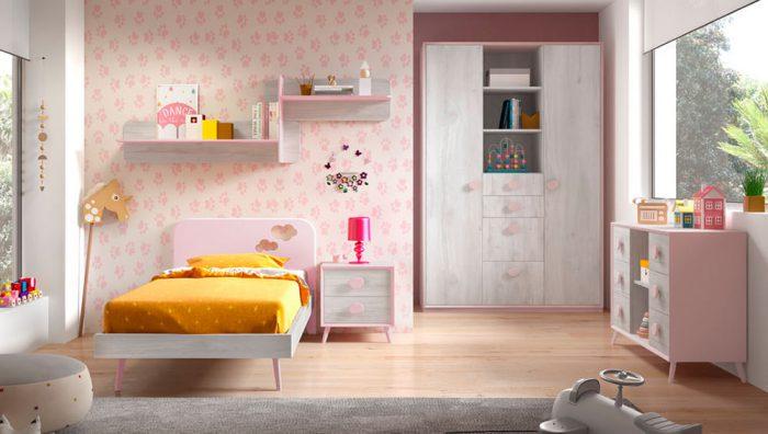 Dormitorio juvenil Compo 19 del fabricante Mobilsa