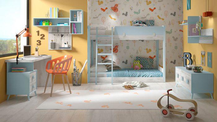 Dormitorio juvenil Compo 20 del fabricante Pinero y Cabrero