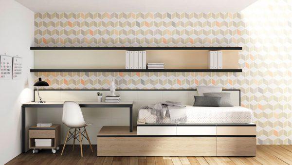 Dormitorio juvenil Lisboa del fabricante Lagrama