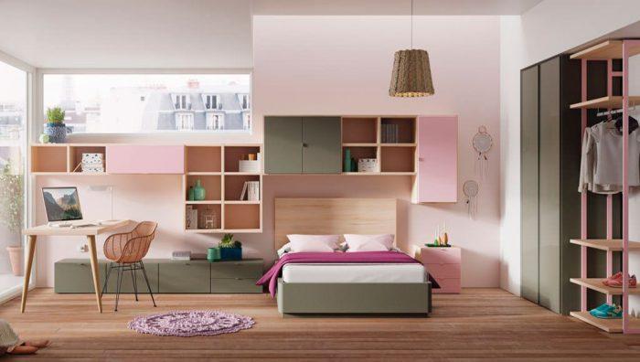 Dormitorio juvenil Vitoria del fabricante Lagrama