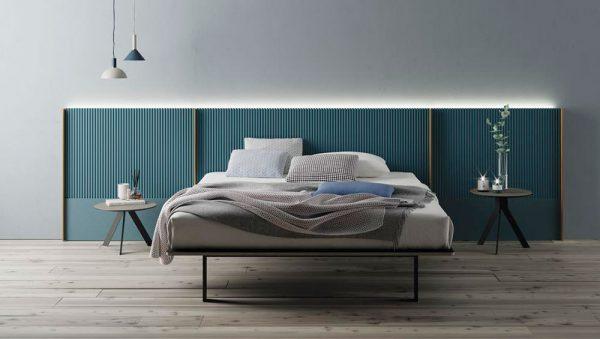 Dormitorio matrimonio New Kandor y Homage del fabricante Lagrama