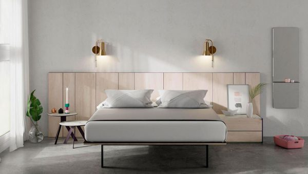 Dormitorio matrimonio  Ax, Av  Av-Cristal y Aw del fabricante Lagrama