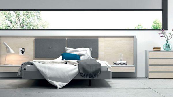 Dormitorio matrimonio Homage cabecero del fabricante Lagrama