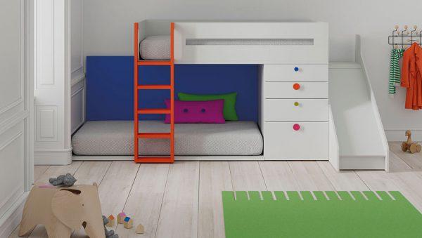 Dormitorio Juvenil con Litera del fabricante JJP