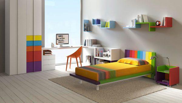 Dormitorio juvenil Colección Magia 1 del fabricante Heress Home