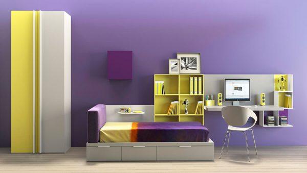 Dormitorio juvenil Colección Magia 11 del fabricante Heress Home