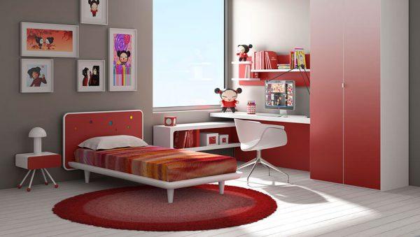 Dormitorio juvenil Colección Magia 2 del fabricante Heress Home