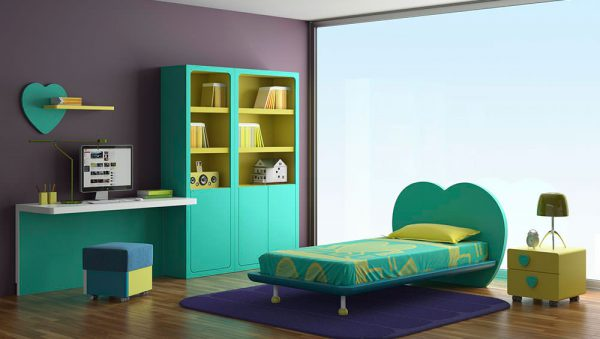 Dormitorio juvenil Colección Magia 3 del fabricante Heress Home