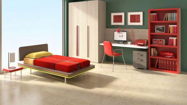 Dormitorio juvenil Colección Magia 4 del fabricante Heress Home