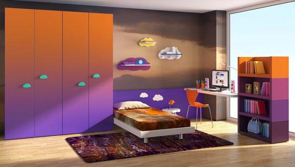 Dormitorio juvenil Colección Magia 6 del fabricante Heress Home