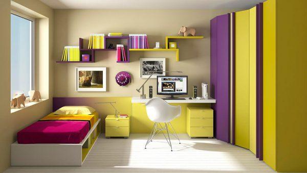 Dormitorio juvenil Colección Magia 9 del fabricante Heress Home